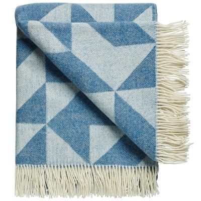 Twist A Twill Blanket - Jean Blue