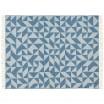 Twist A Twill Blanket - Jean Blue