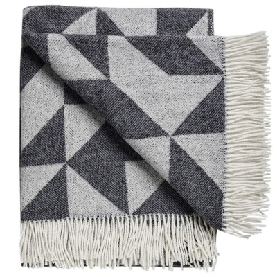 Twist A Twill Blanket - Charcoal Grey