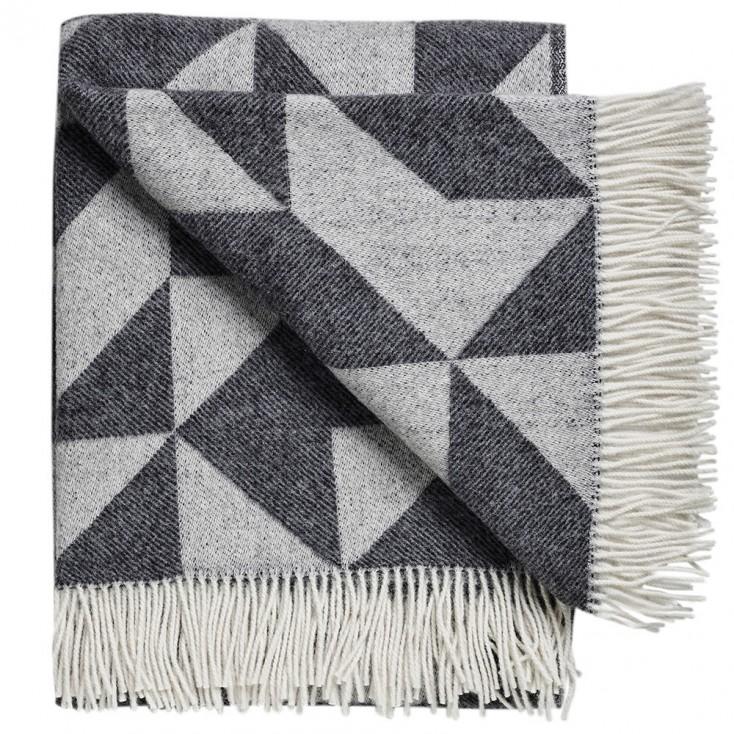 Twist A Twill Blanket - Charcoal Grey