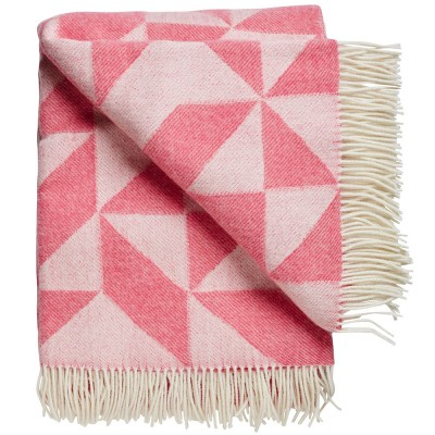 Twist A Twill Blanket - Flamingo pink