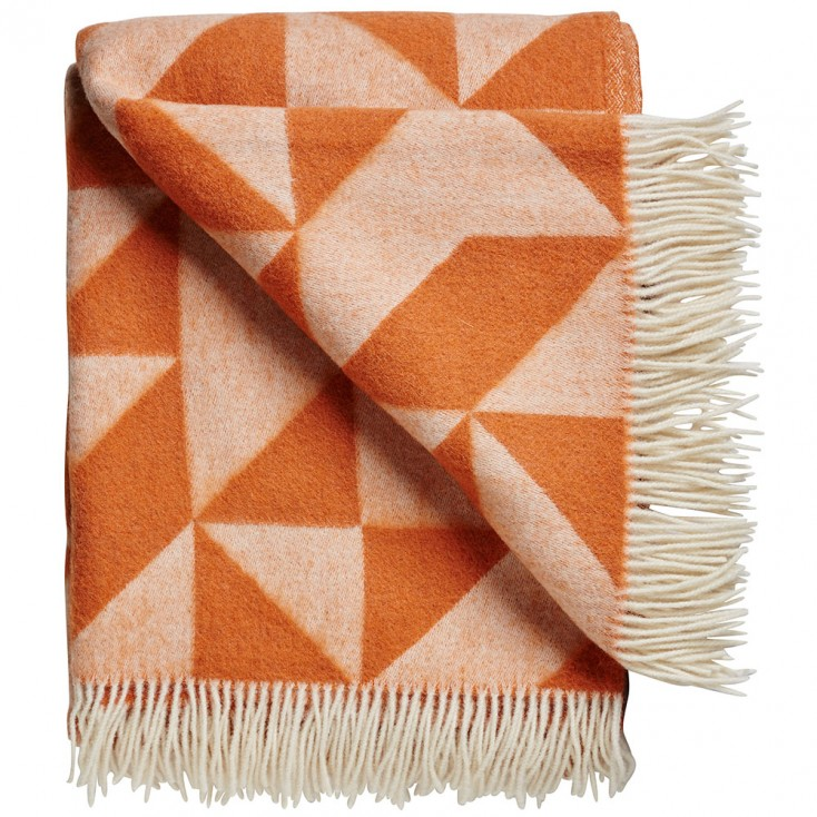 Twist A Twill Blanket - Apricot