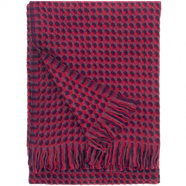 Lapuan Kankurit Alva Blanket - Bordeaux