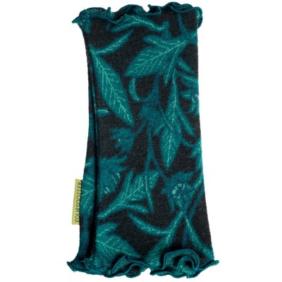Edursdotter Merino Wool Wristwarmers - Foliage Petrol
