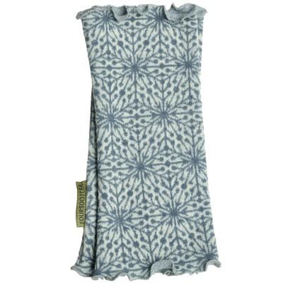 Edursdotter Merino Wool Wristwarmers - Stellar Flint Blue
