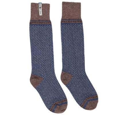 Öjbro Swedish Wool Socks - Skafto Blue