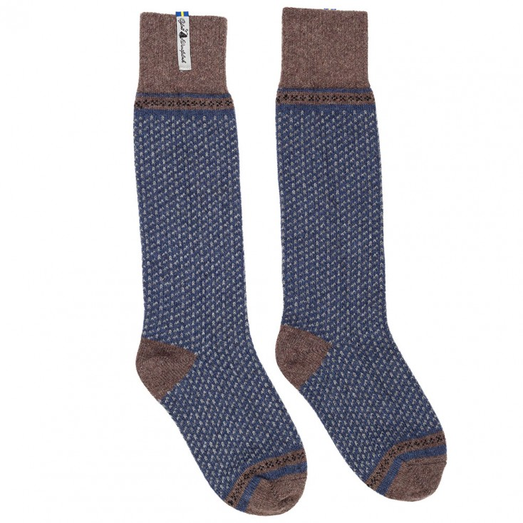Öjbro Swedish Wool Socks - Skafto Navy