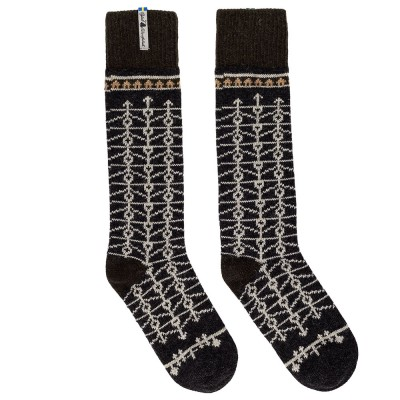 Öjbro Swedish Wool Socks - Eksharad Soot