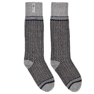 Öjbro Swedish Wool Socks - Skaftö Soot