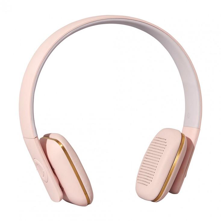 Kreafunk aHead Wireless Headphones - Dusty Pink