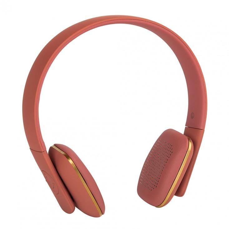Kreafunk aHead Wireless Headphones - Coral