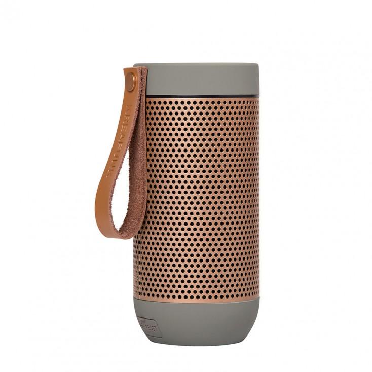 Kreafunk aFunk 360° Bluetooth Speaker - Cool Grey / Rose Gold