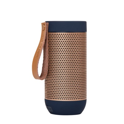 Kreafunk aFunk 360° Bluetooth Speaker - Blue & Rose Gold