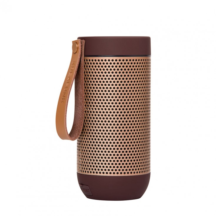 Kreafunk aFunk 360° Bluetooth Speaker - Plum / Rose Gold