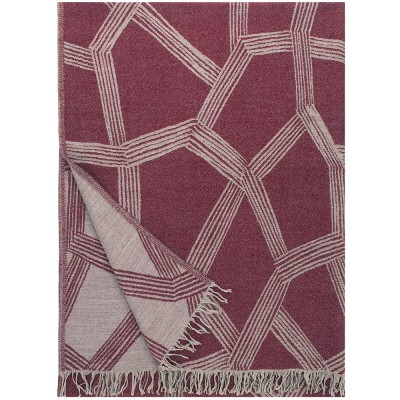 Lapuan Kankurit Himmeli Blanket - Bordeaux