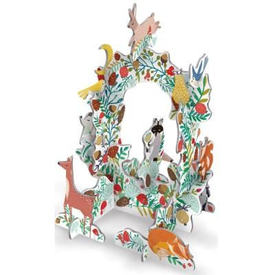 Roger La Borde Frosty Forest Wreath Pop & Slot