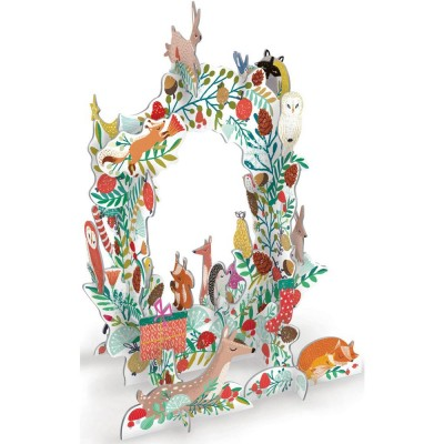 Roger la Borde Frosty Forest Wreath Pop & Slot Advent Calendar