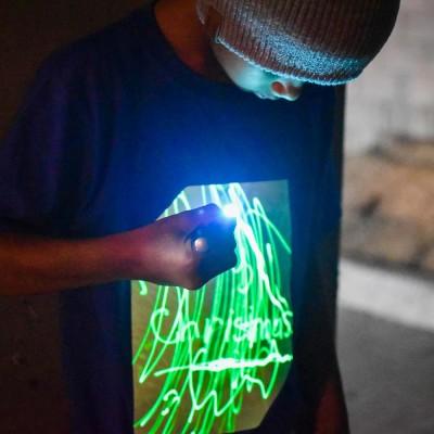 Illuminated Apparel Super Glow T-Shirt - Royal Blue