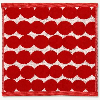 Marimekko Face Cloth - Räsymatto Red