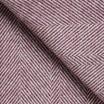 Rømø Herringbone Wool Throw - Heather