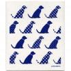 Jangneus Dishcloth - Blue Dogs