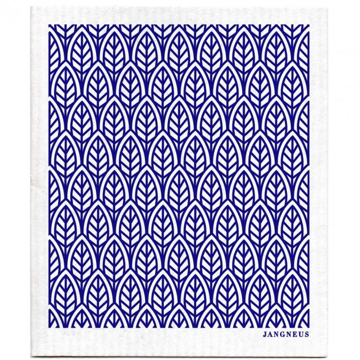Jangneus Dishcloth - Blue Leaves