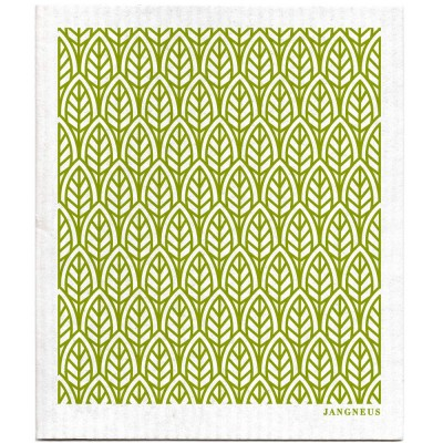 Jangneus Dishcloth - Green Leaves