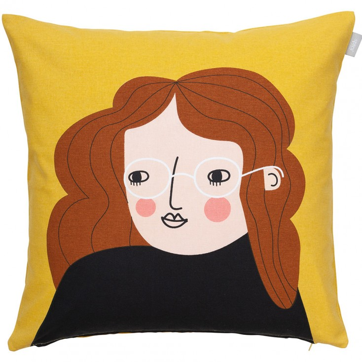 Spira Face Cushion Cover - Bia