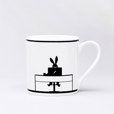 Ham Working Rabbit Mug