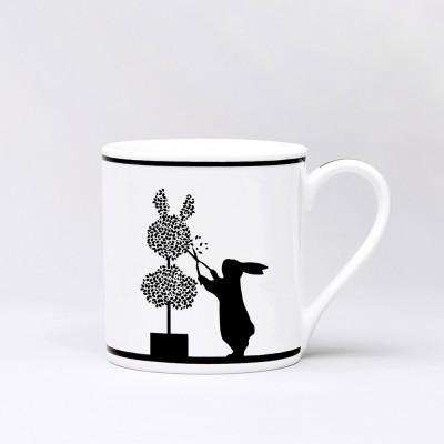 Ham Gardening Rabbit Mug