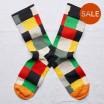 Bonne Maison Socks - Multicoloured Patchwork