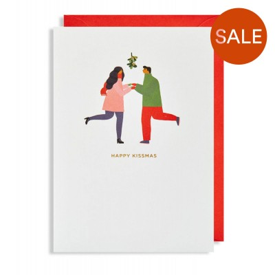 Under The Mistletoe Christmas Cards - Pack of 5