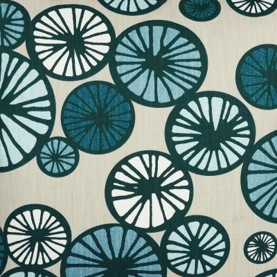 Scandinavian Fabric - Spira Taro Blue