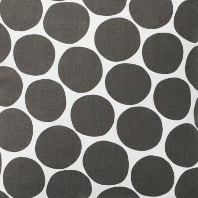 Remnant - Pom Pom Grey Fabric - 3 Metres