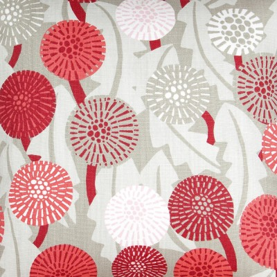 Maskros Red Fabric