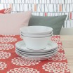 Scandinavian Fabric - Spira Lycka Rouge