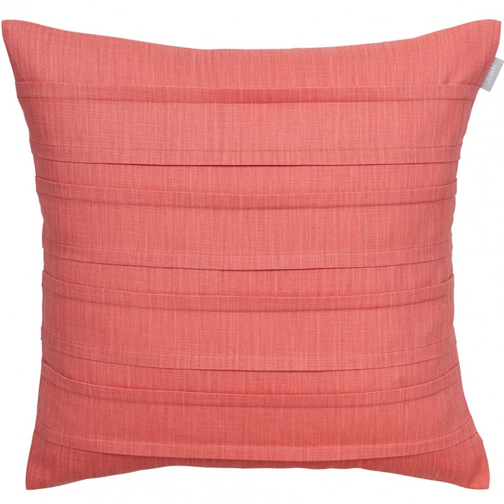 Spira Pleat Cushion Cover - Rouge