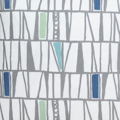 Scandinavian Fabric - Spira Mosaik Blue