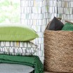 Scandinavian Fabric - Spira Mosaik Green