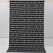 Remnant - Vilma Black Fabric - 2 Metres