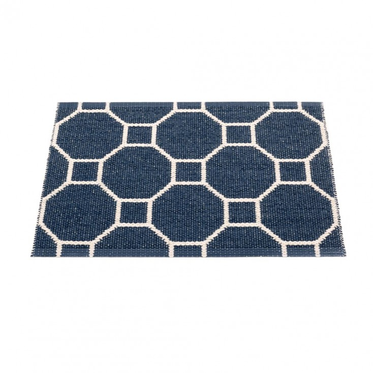 Pappelina Rakel Small Mat - Dark Blue