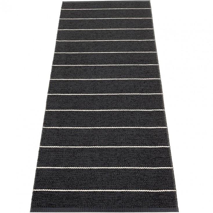Pappelina Carl Runner - Black Side 70 x 180 cm