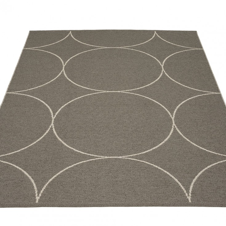 Pappelina Boo Large Rug - Charcoal