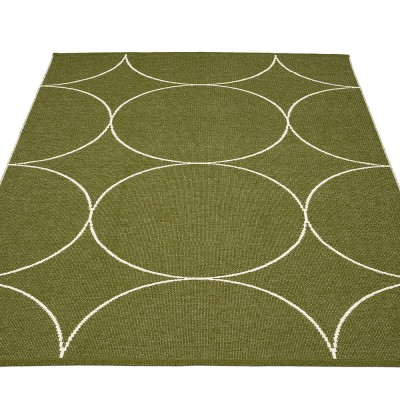 Pappelina Boo Large Rug - Dark Olive