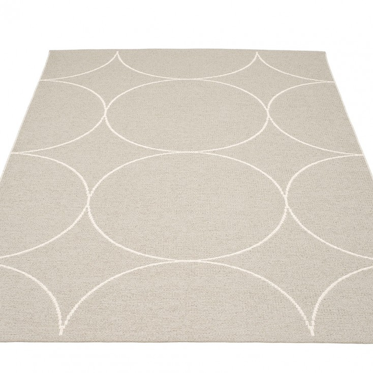 Pappelina Boo Large Rug - Linen