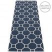 Pappelina Rakel Runner - Dark Blue 70 x 225 cm