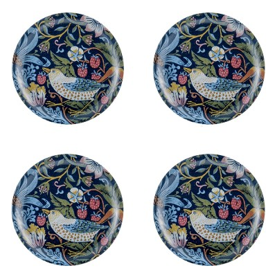 Åry Home Strawberry Thief Coasters - Set Of Four