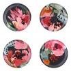 Åry Home Garden Bouquet Coasters - Set Of Four