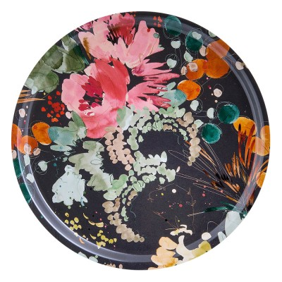Ary Trays Garden Bouquet Round Tray