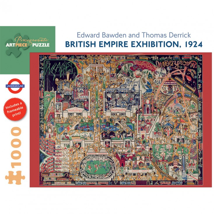 Pomegranate British Empire Exhibition 1924 1000 Piece Jigsaw Puzzle
